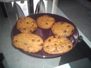 COOKIE NUTELLA COEUR MOELLEUX cookie-300x225